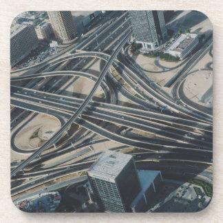 Burj Khalifa road view, Dubai Coaster