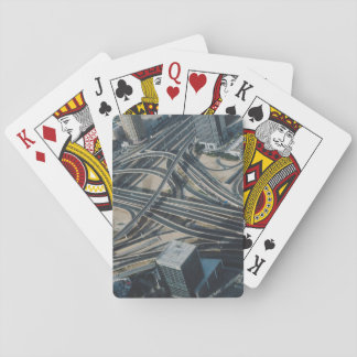 Burj Khalifa road view,Dubai Playing Cards