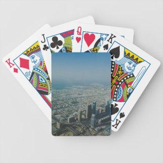 Burj Khalifa view, Dubai Bicycle Playing Cards