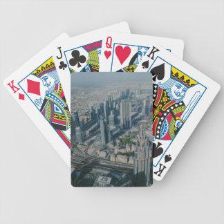 Burj Khalifa view,Dubai Bicycle Playing Cards