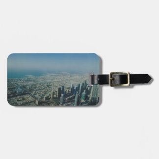 Burj Khalifa view, Dubai Luggage Tag