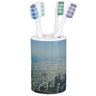 Burj Khalifa view, Dubai Soap Dispenser And Toothbrush Holder