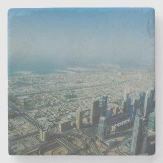 Burj Khalifa view, Dubai Stone Coaster