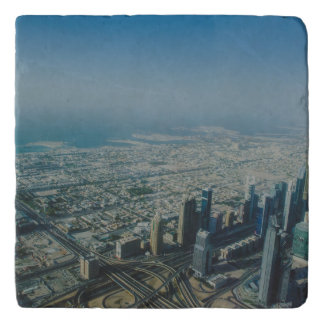 Burj Khalifa view, Dubai Trivet