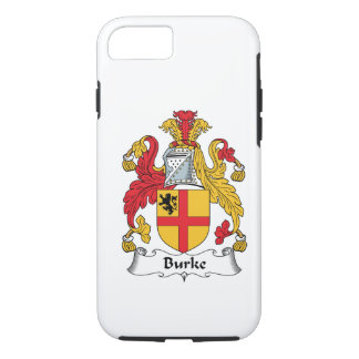 Burke Family Crest iPhone 7 Case