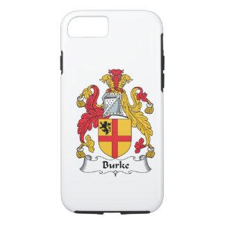 Burke Family Crest iPhone 7 Case