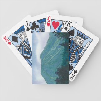 Burke Mountain East Burke Vermont Bicycle Playing Cards