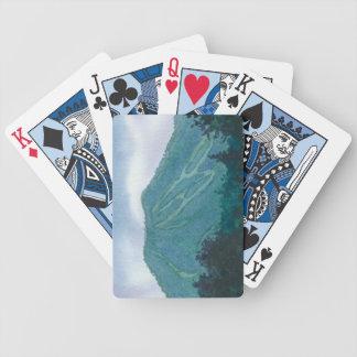 Burke Mountain East Burke Vermont Poker Deck