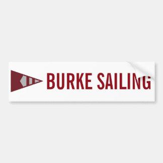 Burke Sailing Bumper Sticker