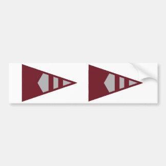 Burke Sailing Burgee Bumper Stickers