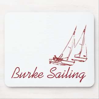 Burke Sailing Mousepad