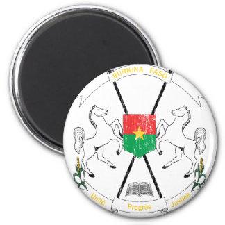 Burkina Faso Coat Of Arms Magnet