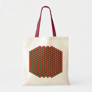 Burkina Faso Flag Hearts Bag