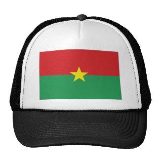 Burkina Faso National Flag Mesh Hat