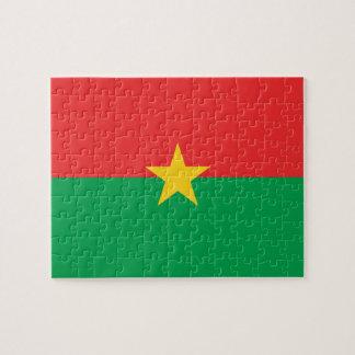 Burkina Faso National World Flag Jigsaw Puzzle