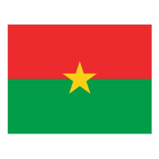 Burkina Faso National World Flag Postcard