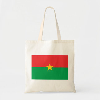 Burkina Faso National World Flag Tote Bag