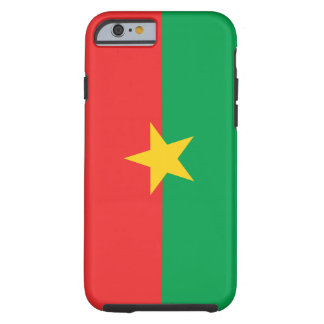 Burkina Faso National World Flag Tough iPhone 6 Case