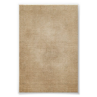 Burlap Background Poster