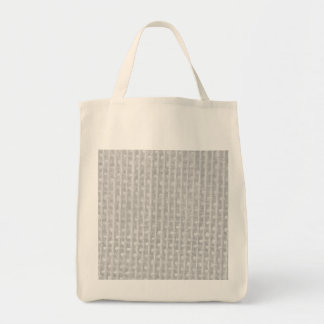 Burlap in Silvery White Bags
