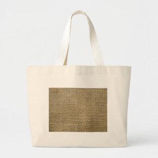 Burlap Jumbo Tote Bag