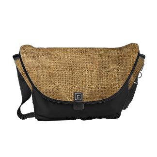 """""""Burlap"""" Messenger Bag"""