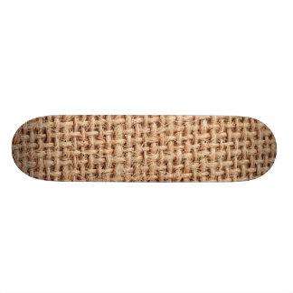 Burlap Sack 19.7 Cm Skateboard Deck