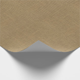 Burlap Texture Wrapping Paper