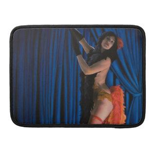 Burlesque Dancer Macbook Sleeve