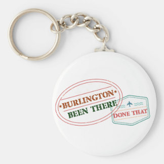 Burlington Been there done that Key Ring