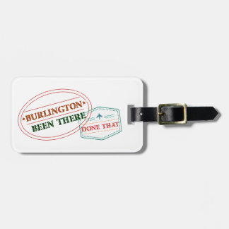 Burlington Been there done that Luggage Tag