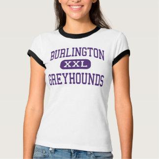 Burlington - Greyhounds - High - Burlington Iowa T-Shirt