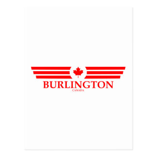 BURLINGTON POSTCARD