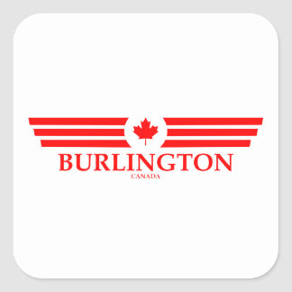 BURLINGTON SQUARE STICKER