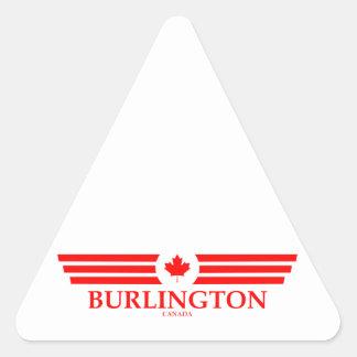 BURLINGTON TRIANGLE STICKER
