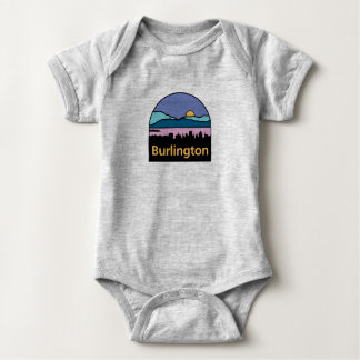 Burlington Vermont Baby Baby Bodysuit
