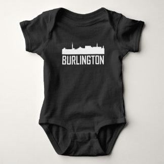 Burlington Vermont City Skyline Baby Bodysuit