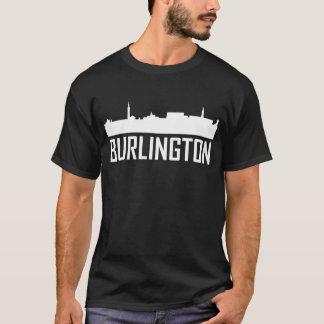 Burlington Vermont City Skyline T-Shirt