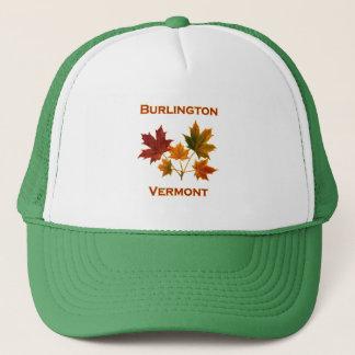 Burlington Vermont Fall Foliage - Maple Leaves Trucker Hat