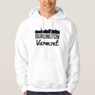 Burlington Vermont Skyline Hoodie