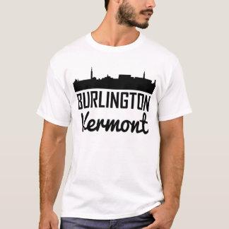 Burlington Vermont Skyline T-Shirt