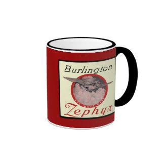 Burlington Zephyr Train Coffee Mug