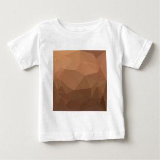 Burlywood Goldenrod Abstract Low Polygon Backgroun Baby T-Shirt