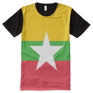 Burma Flag All-Over Print T-Shirt