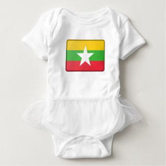 Burma Flag Baby Bodysuit