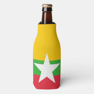 Burma Flag Bottle Cooler