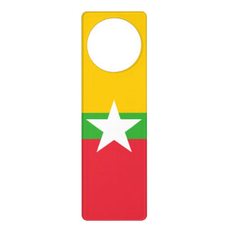 Burma Flag Door Hanger