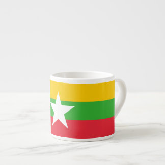 Burma Flag Espresso Cup
