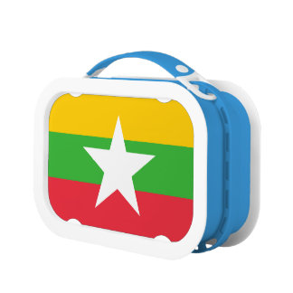 Burma Flag Lunch Box