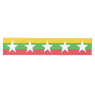 Burma Flag Medium Table Runner